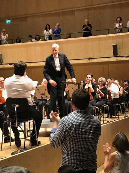 Herbert Blomstedt, Tonhalle Maag, Brahms SympZurichhony No. 3 , June 27, 2019