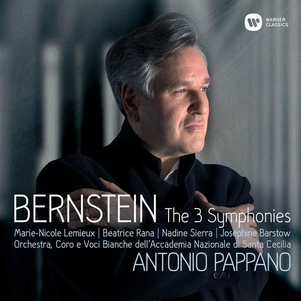 Bernstein the 3 symphonies Antonio Pappano