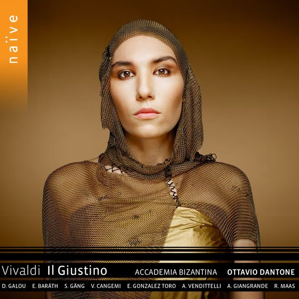 Vivaldi Il Giustino Ottavio Dantone Accademia Bizantina Naive 2019 24 96 Galou Barath Gang Cangemi