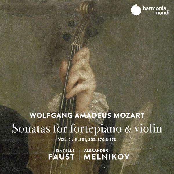 Wolfgang Amadeus Mozart: Sonatas fro fortepiano & violin Isabelle Faust Alexander Melnikov Harmonia Mundi 2020 24 96