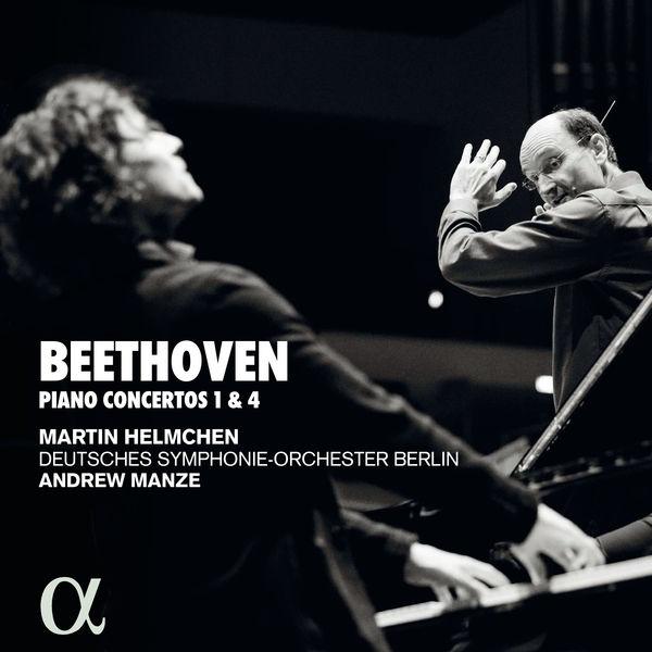 Beethoven Piano Concertos 1& 4 Martin Heimchen Deutsches Sinfonieorchester Berlin Andrew Manze Alpha 2020 24 96