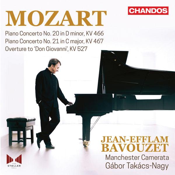 Mozart Piano Concertos No. 21 & 20 - Jean-Efflam Bavouzet - Manchester Camerata - Gabor Takacs-Nagy Chandos 24/96