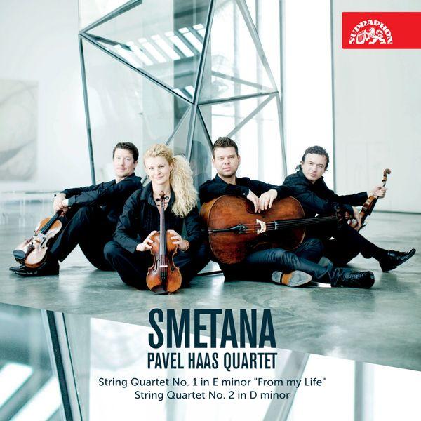 Smetana String Quartet No. 1 & 2 - Pavel Haas Quartet Supraphon 2015