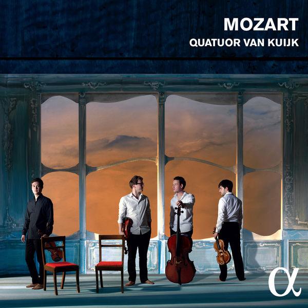 Mozart: String Quartets No. 16 & 19 - Quatuor van Kuijk Alpha 2016 24/96